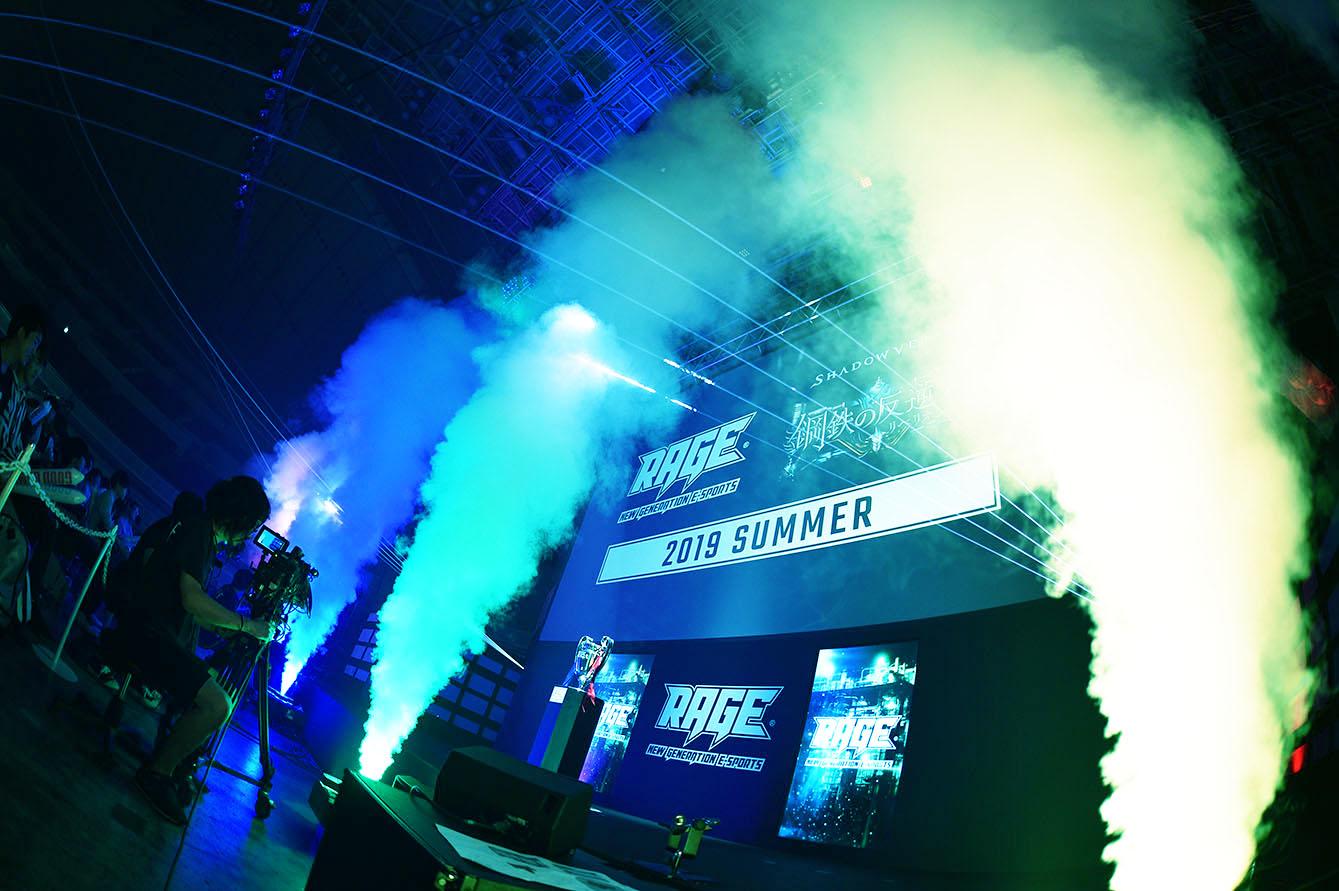 2019年6月16日(日)開催 国内最大級のeスポーツイベント「RAGE 2019 Summer」レポート! 12回目となる今大会は、最後まで気の抜けない展開に 〜MCの霜降り明星も大興奮・ゲーム愛炸裂〜